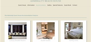 Port Elizabeth DNN website design - Admiralty Guesthouse