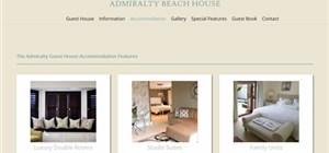 Port Elizabeth DNN website design - Admiralty Guesthouse